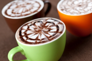 mugs of cafe mocha