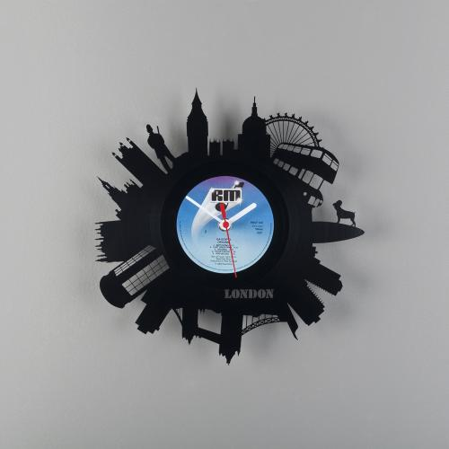 vinyl clocks