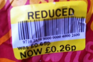 Reduced Label - Sainsburys