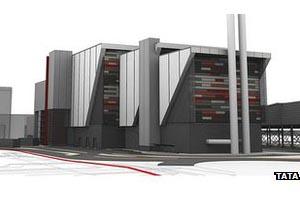 Lostock waste to energy plant design