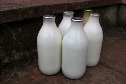 carbon footprint of milk