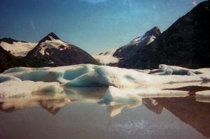 Portage glacier 1974