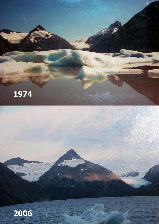 Portage Glacier retreat