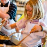green cooking with kids